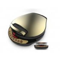 利仁黄金贝壳版语音提示可拆卸盘式豪华电饼铛(LR-A434)