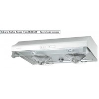 "樱花 36"" 730 CFM Auto-Sensor White Kitchen Rangehood (R8168F-36W)"
